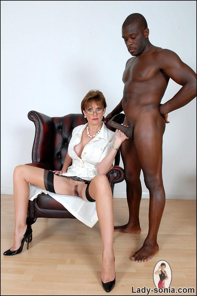 Black stud with milf