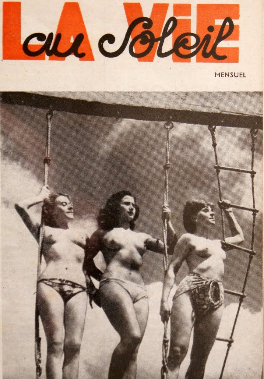 Pre war nudist film pics