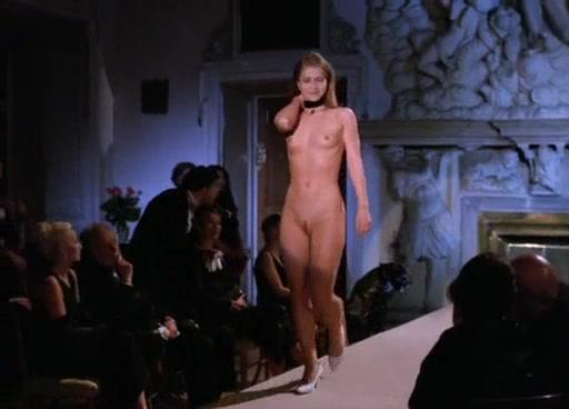 Nude women slave auction inspection
