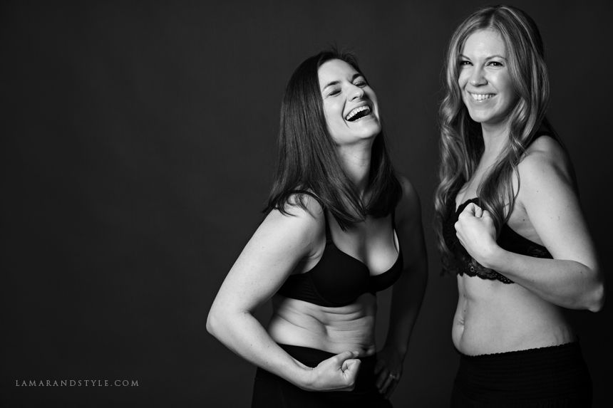 Women proud of their body