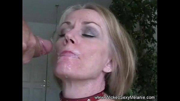 Amateur wife cum on face compilation