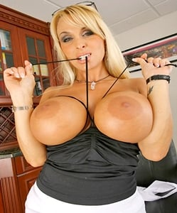 Holly halston big oiled tits