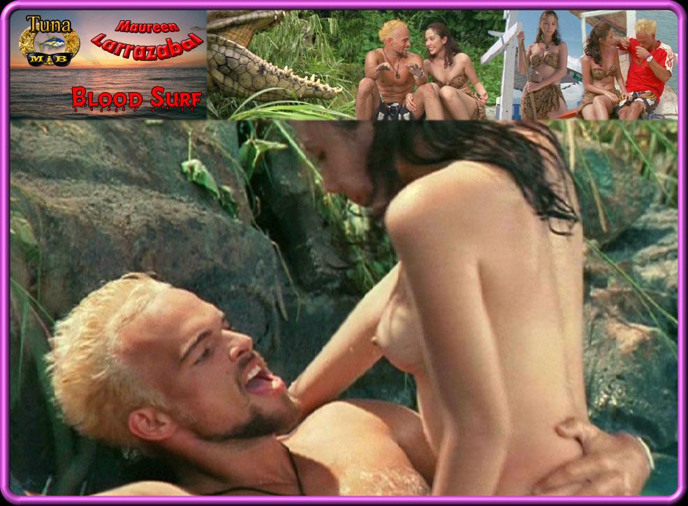 Maureen larrazabal nude photos in blood surf