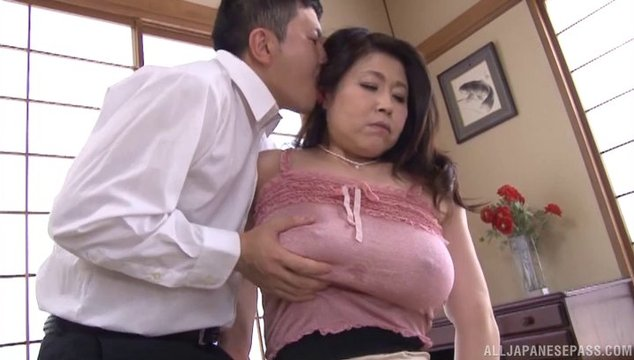 Japanese mom hairy pussy