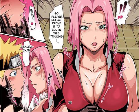 Naruto sakura hentai comic porn