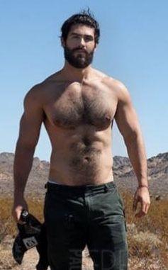 Tall dark handsome hairy men naked