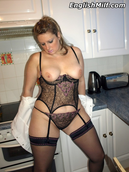 Hot chubby milf lingerie