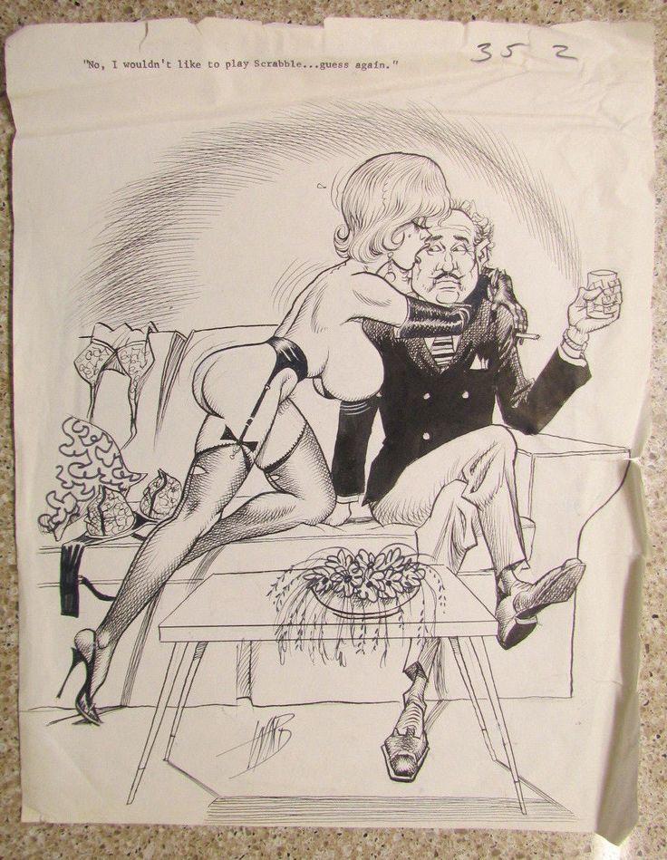 Vintage porn anal sex cartoons