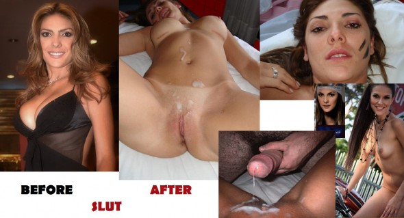 Before after amateur interracial