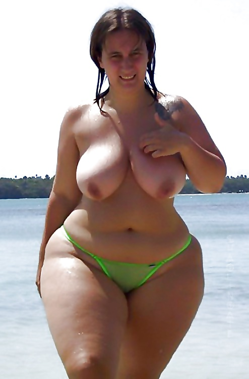 Mature pear- shaped vintage nudes