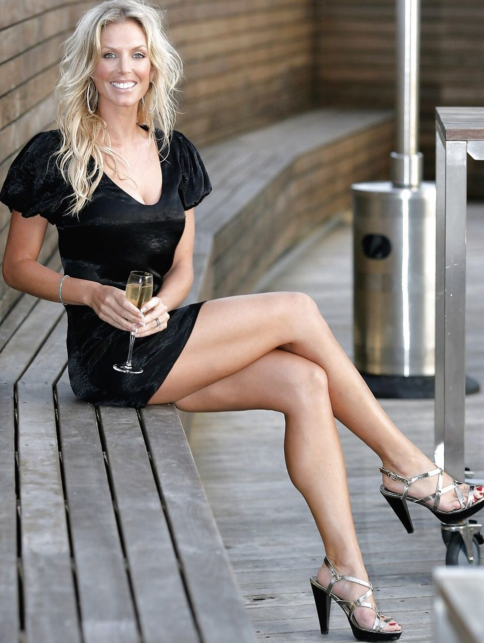 Mature with great legs