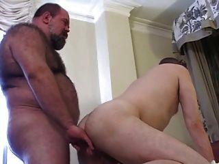 German bear daddy fuck