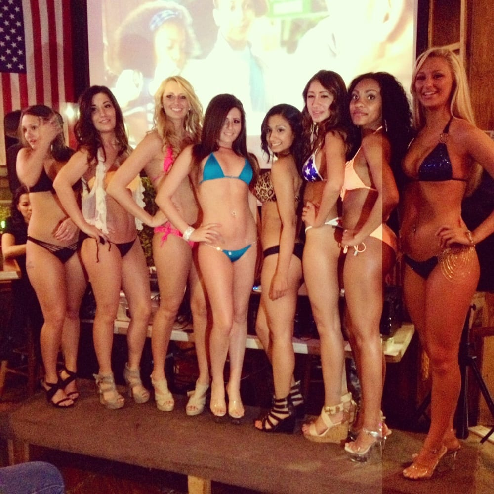 Nude beauty pageant contestants