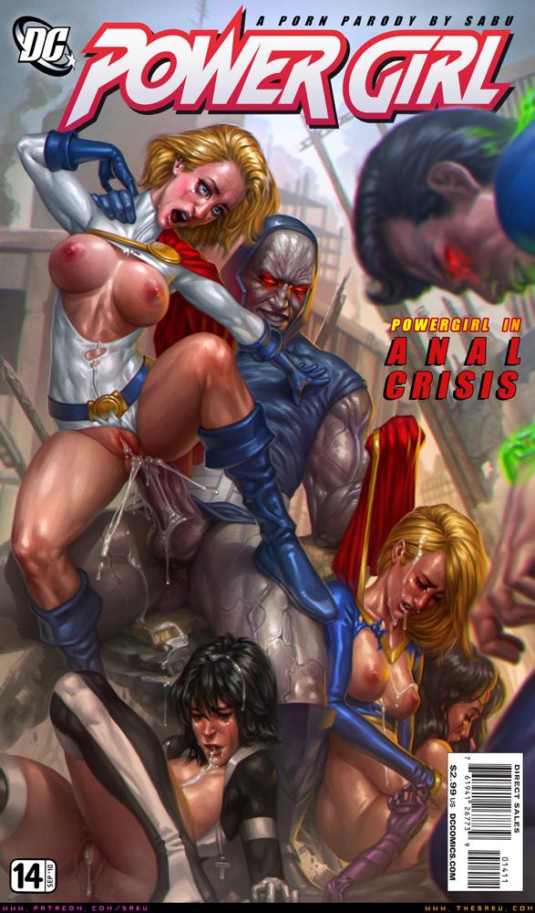 Superman power girl porn