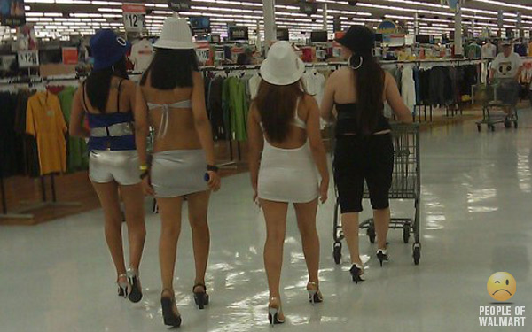 Girl hotties at walmart