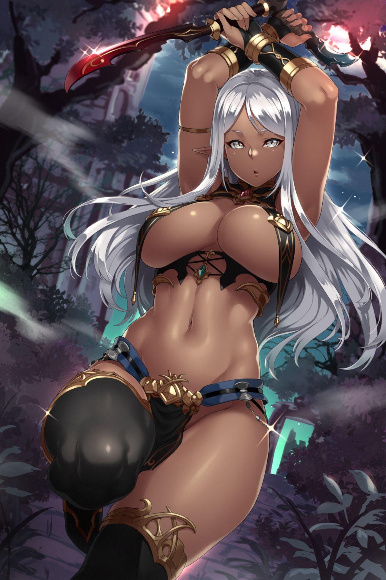 Sexy dark skin elf hentai pics