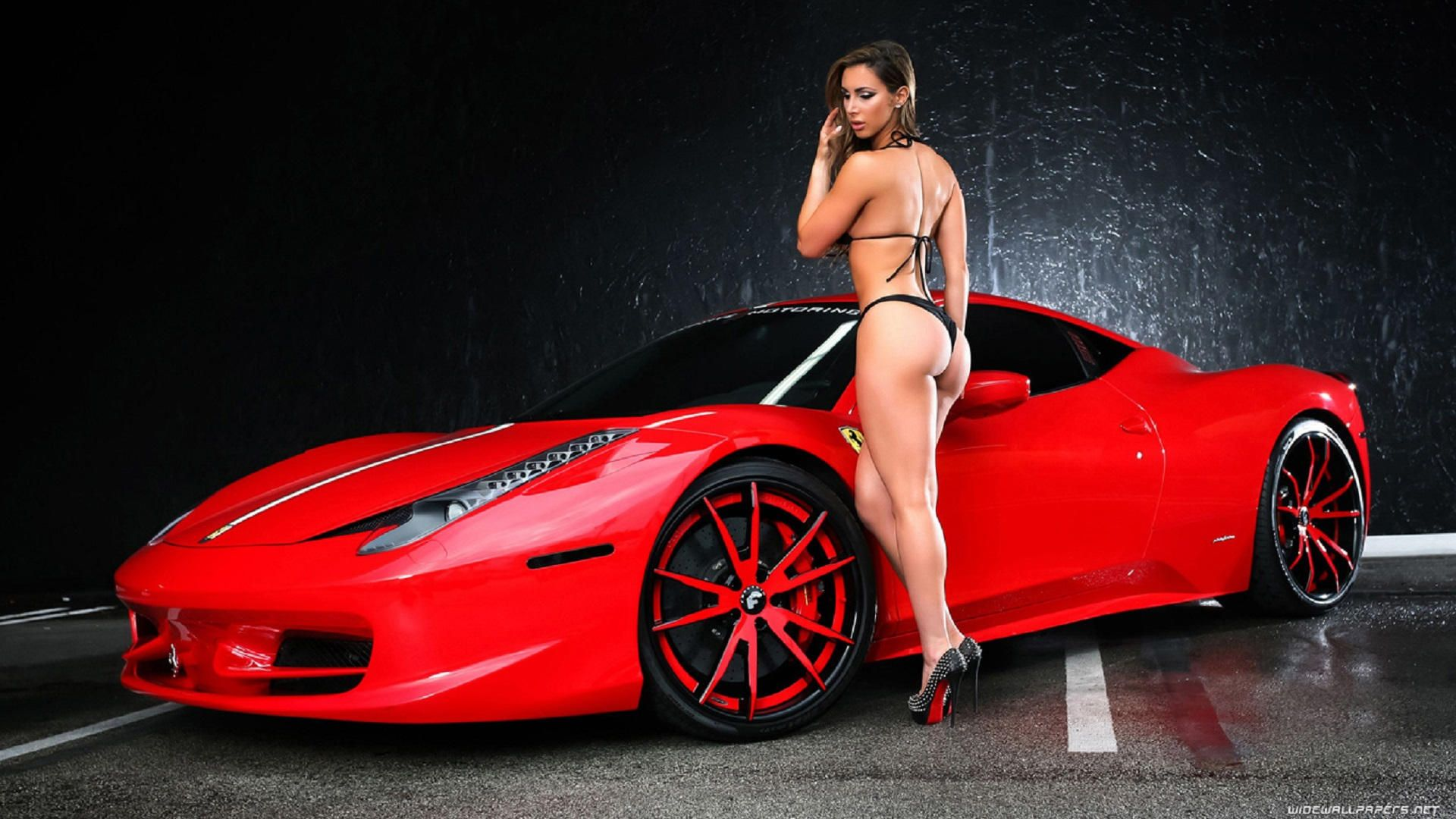 Hot sexy girls and cars wallpaper hd