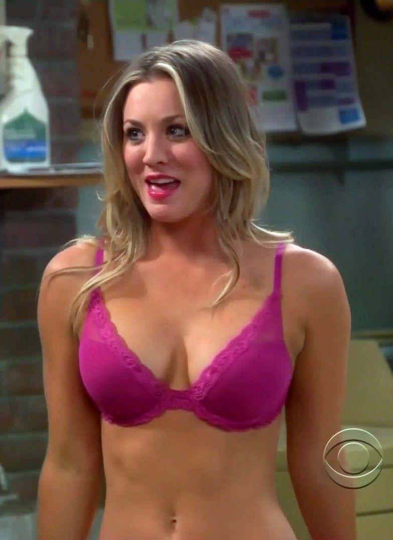 Kaley cuoco big bang theory bra