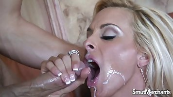 Holly halston gets cum facial