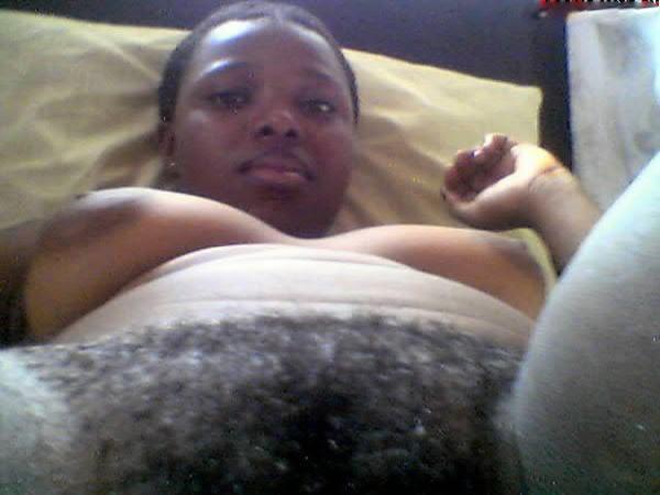Hairy black mzansi pussy