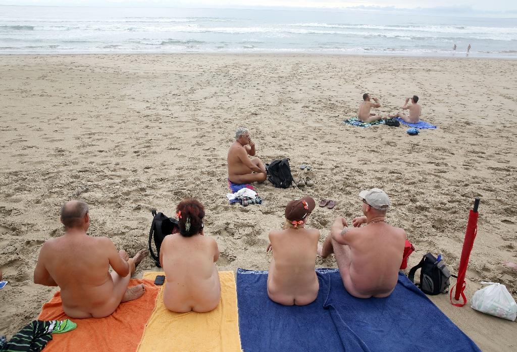 Nude beaches photos of people