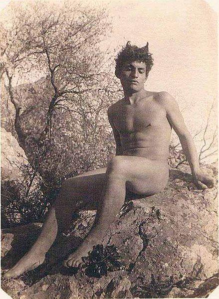 Vintage nude greek boys