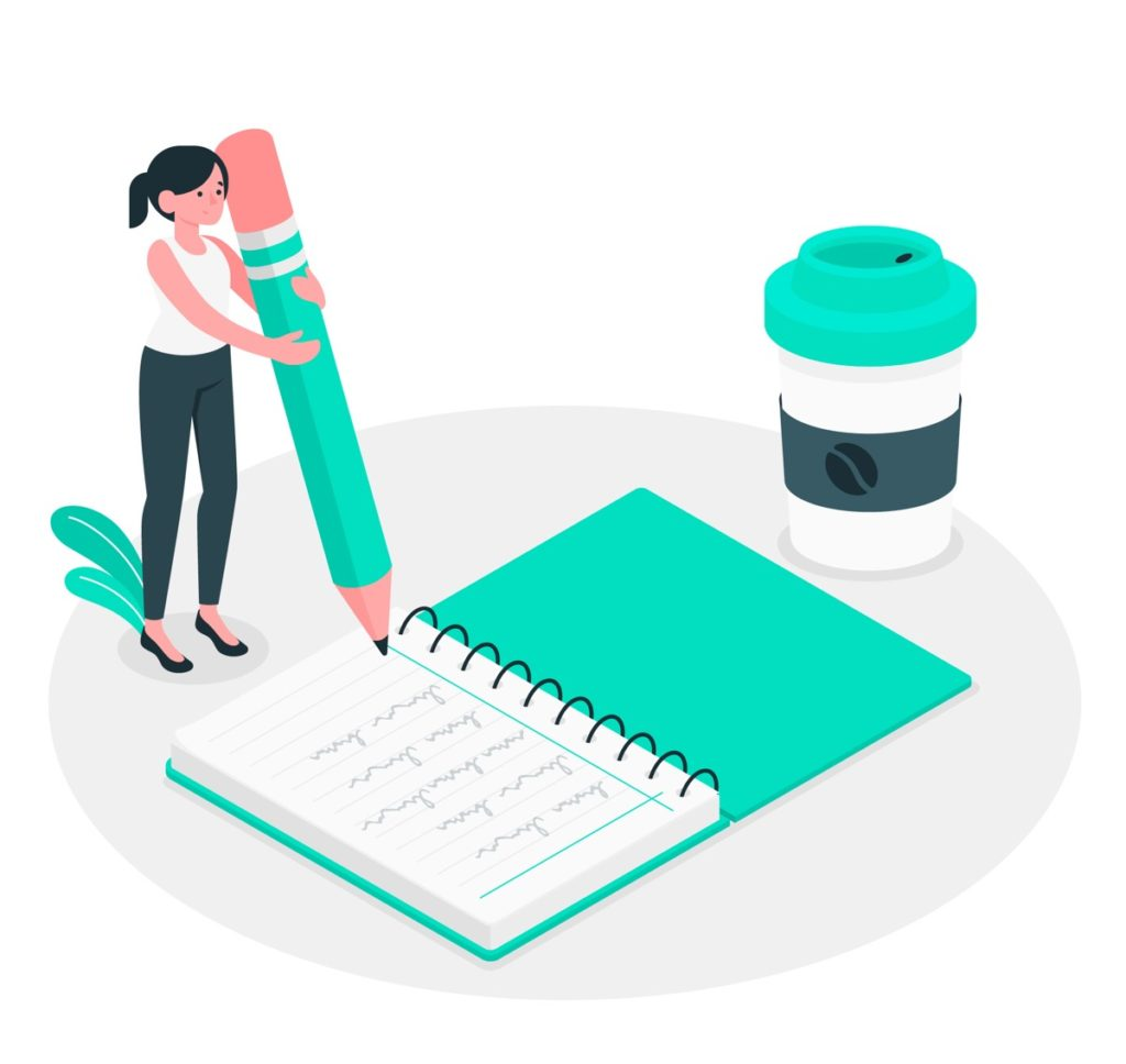 Adult improve skill writing