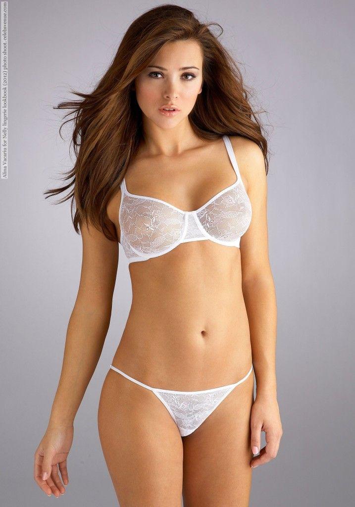 Alina vacariu see through bra