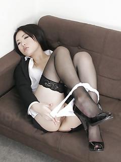 Japanese nylon stockings porn