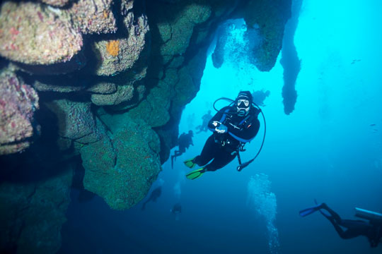 Great blue hole belize diving