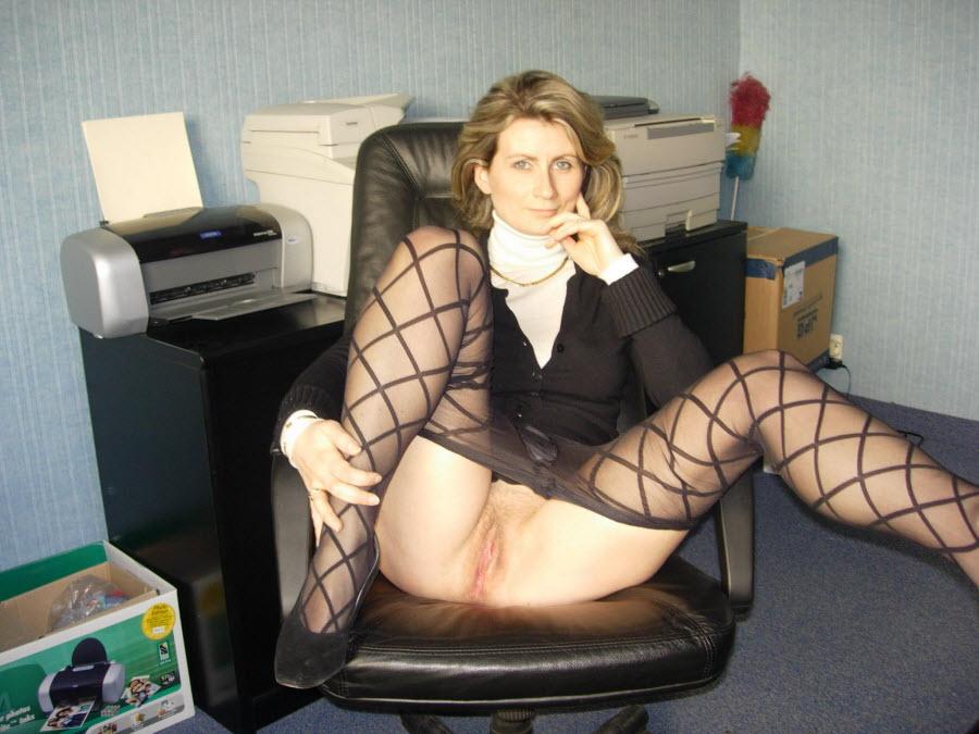 Mature office secretary sex