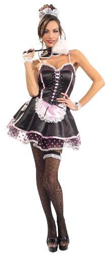 Mature french maid uniform