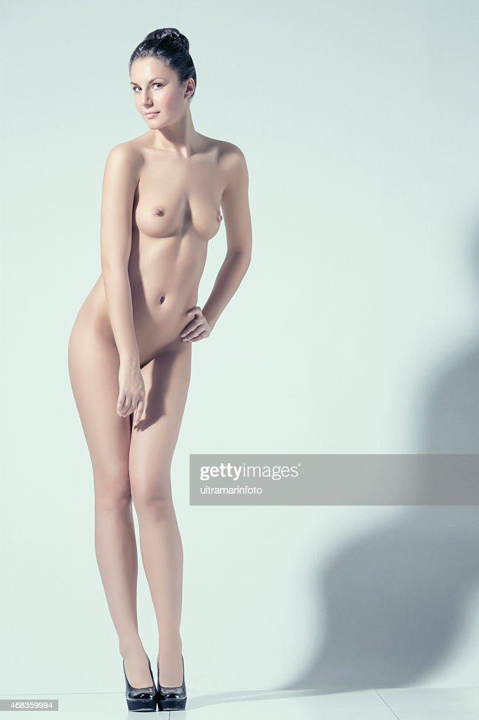 Sexy nude women high heels
