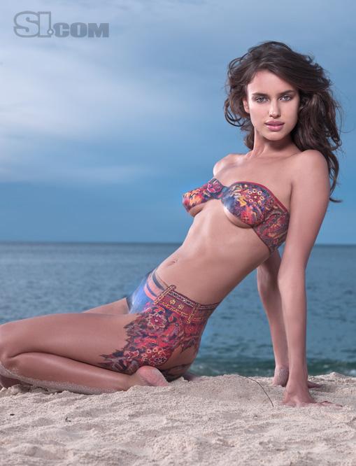 Irina shayk body nude
