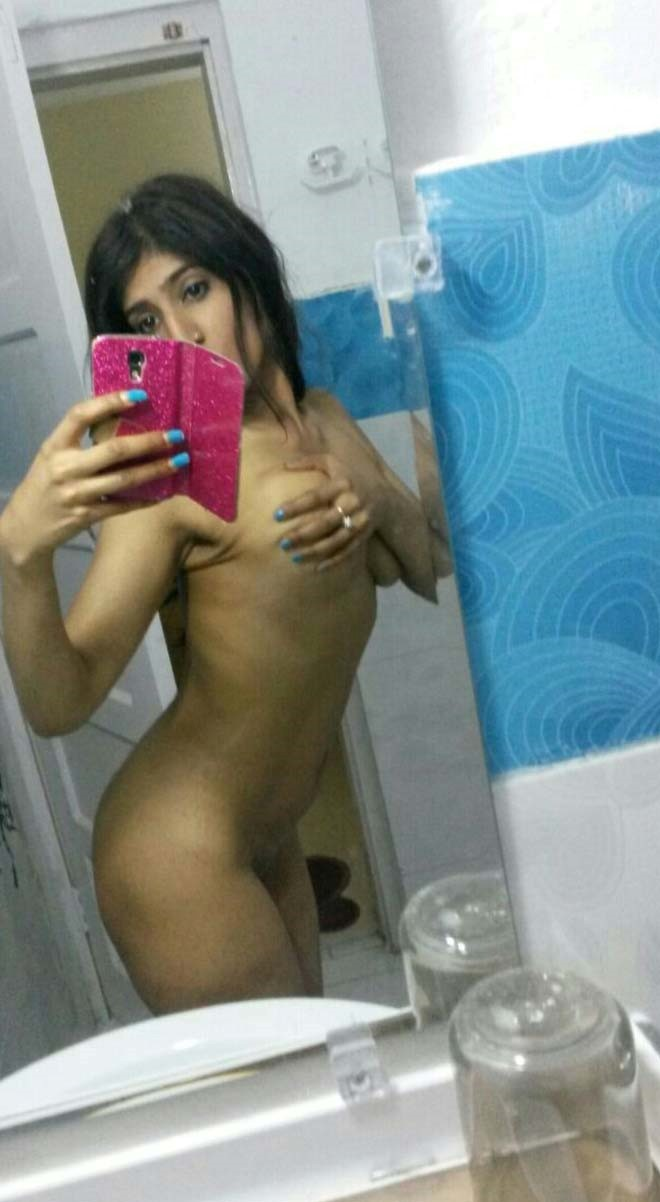 Skinny indian nude selfie xxx