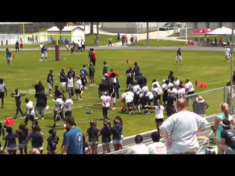 Pee wee football brawl video