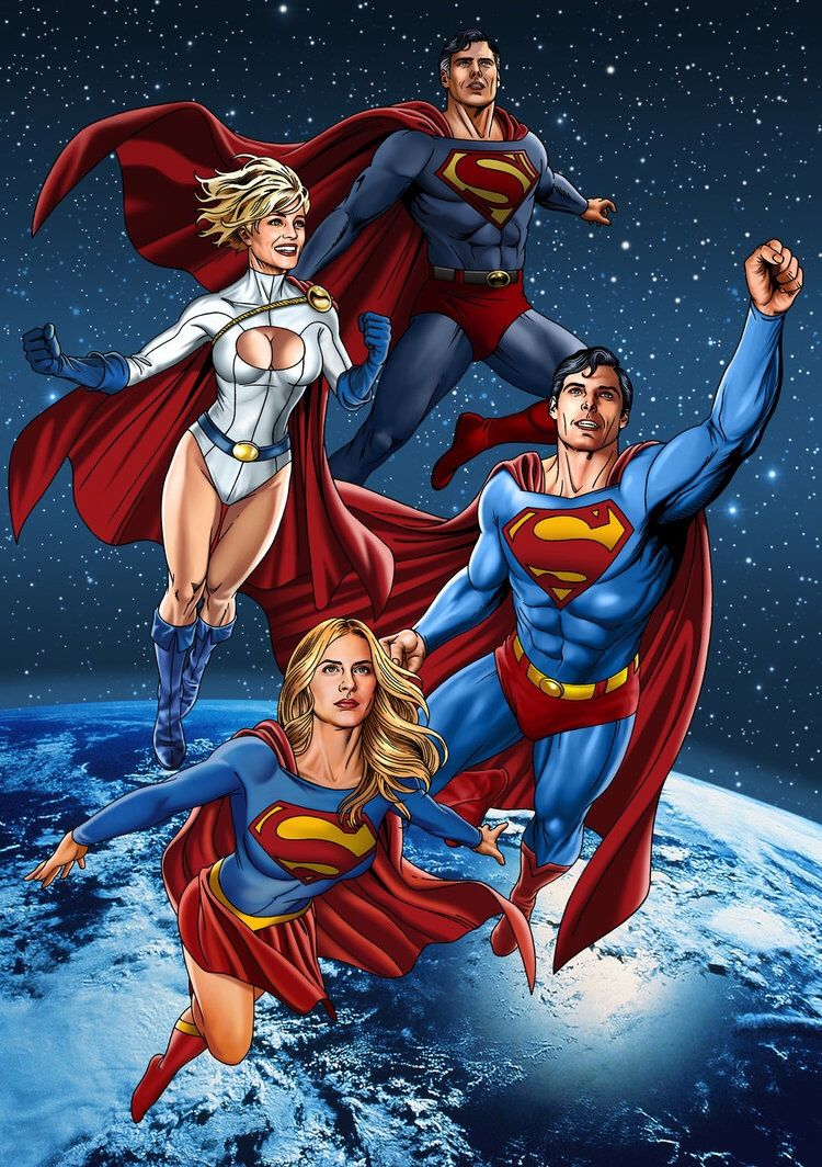 Power girl as supergirl