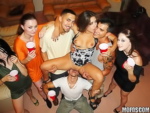 Real slut party porn