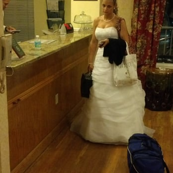 My wife on wedding night