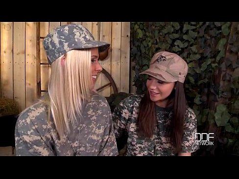 Lesbian military girls fucking