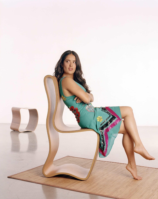 Salma hayek feet toes