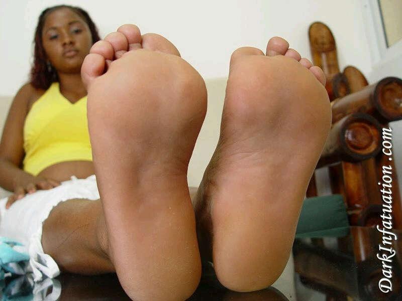 Bbw ebony big pussy feet