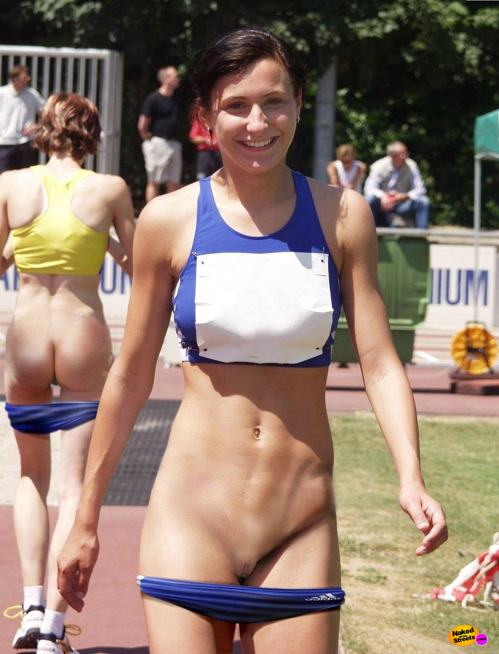 Accidental nude in sports