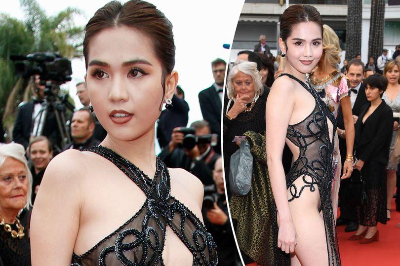 Vietnamese model ngoc trinh