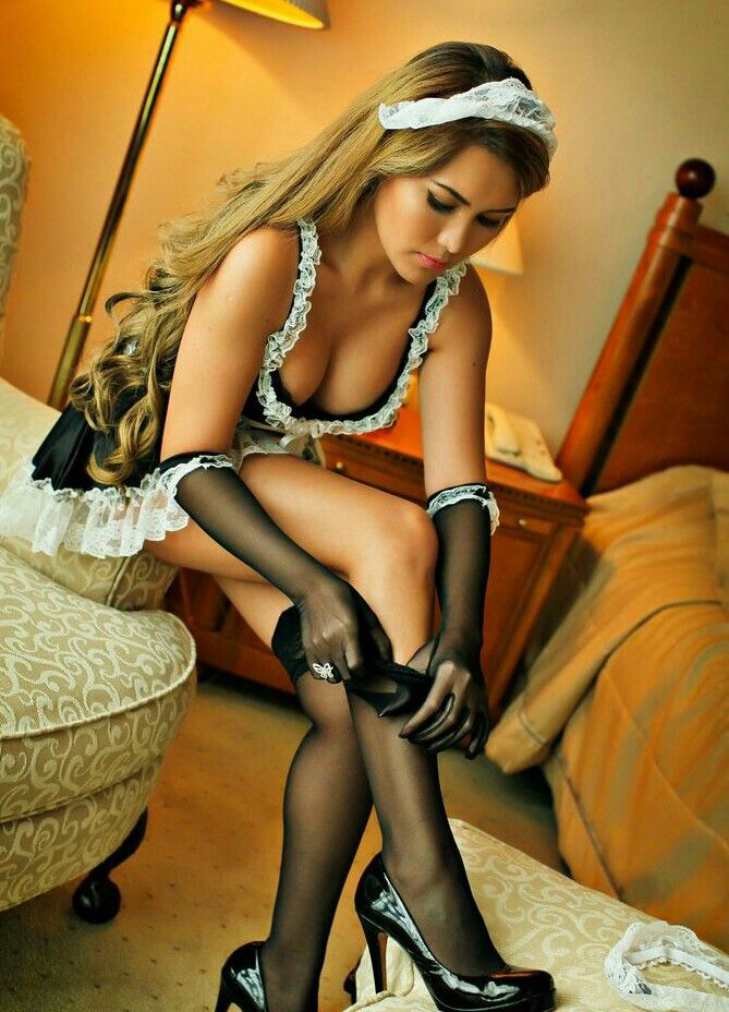 Sexy french maid porn