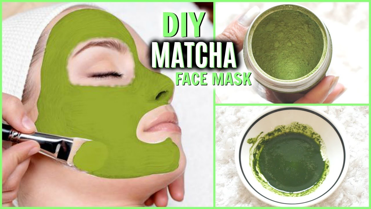 Homemade facial masks tea