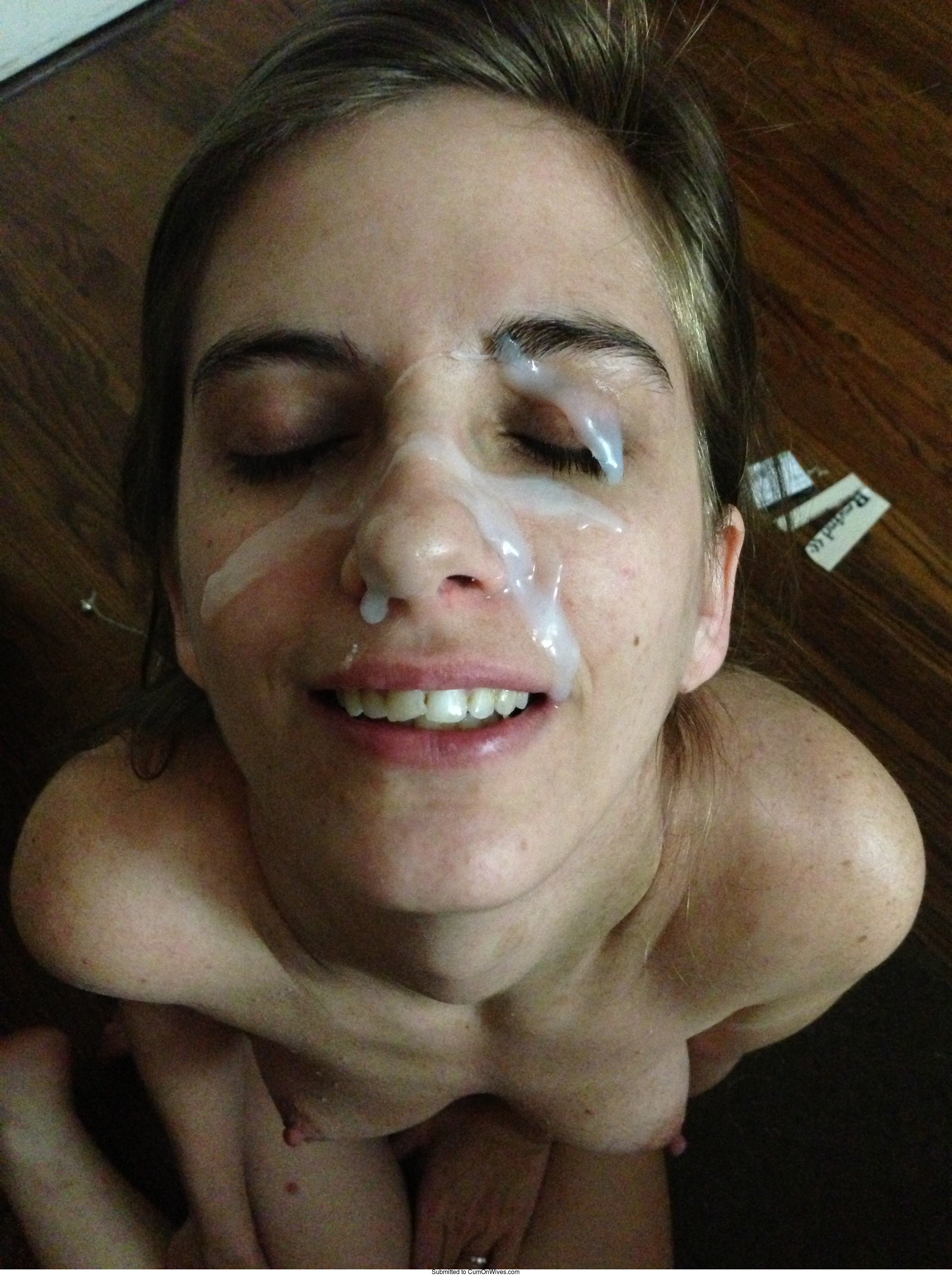 Facial cumshot user submitted pics