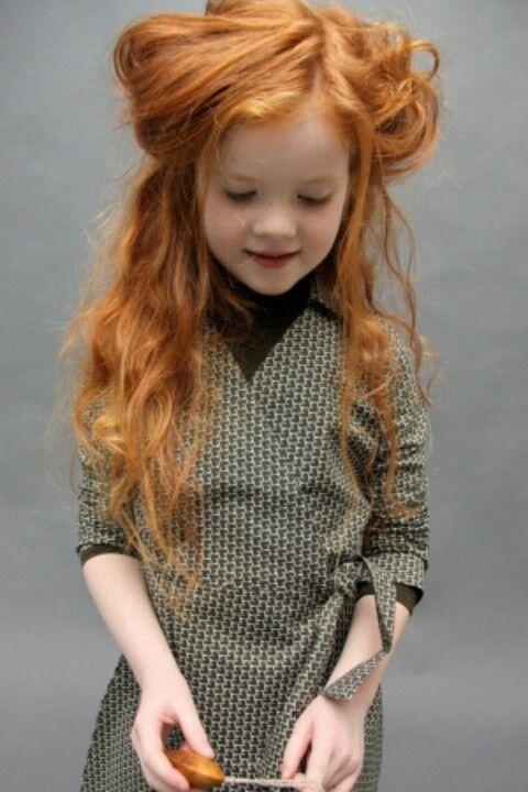 Young teen girl self shot redhead