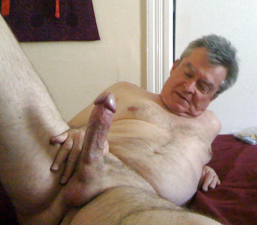 Old man big dick nudes