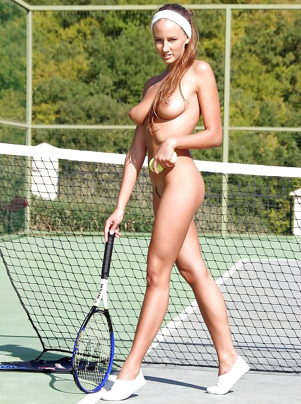 Czech tennis nude girl